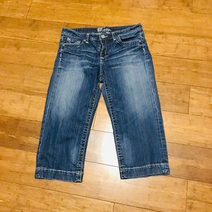 Kut From The Kloth Stretch Capri Jeans Size 10